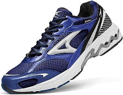 Zapatillas de Running Hombre Calzados para Correr en Asfalto Deporte Sport Casual Sneakers 39-45EU: Amazon.es: Zapatos y complementos