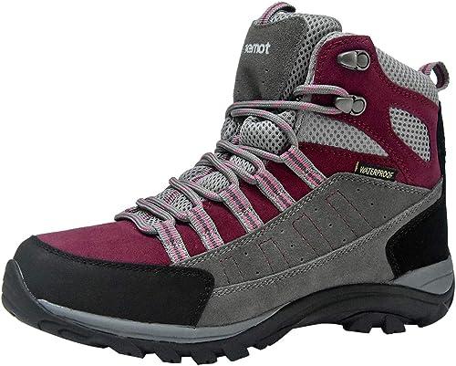 Walking Boots Mens Womens Lightweight Hiking Boots Outdoor Trekking Shoes