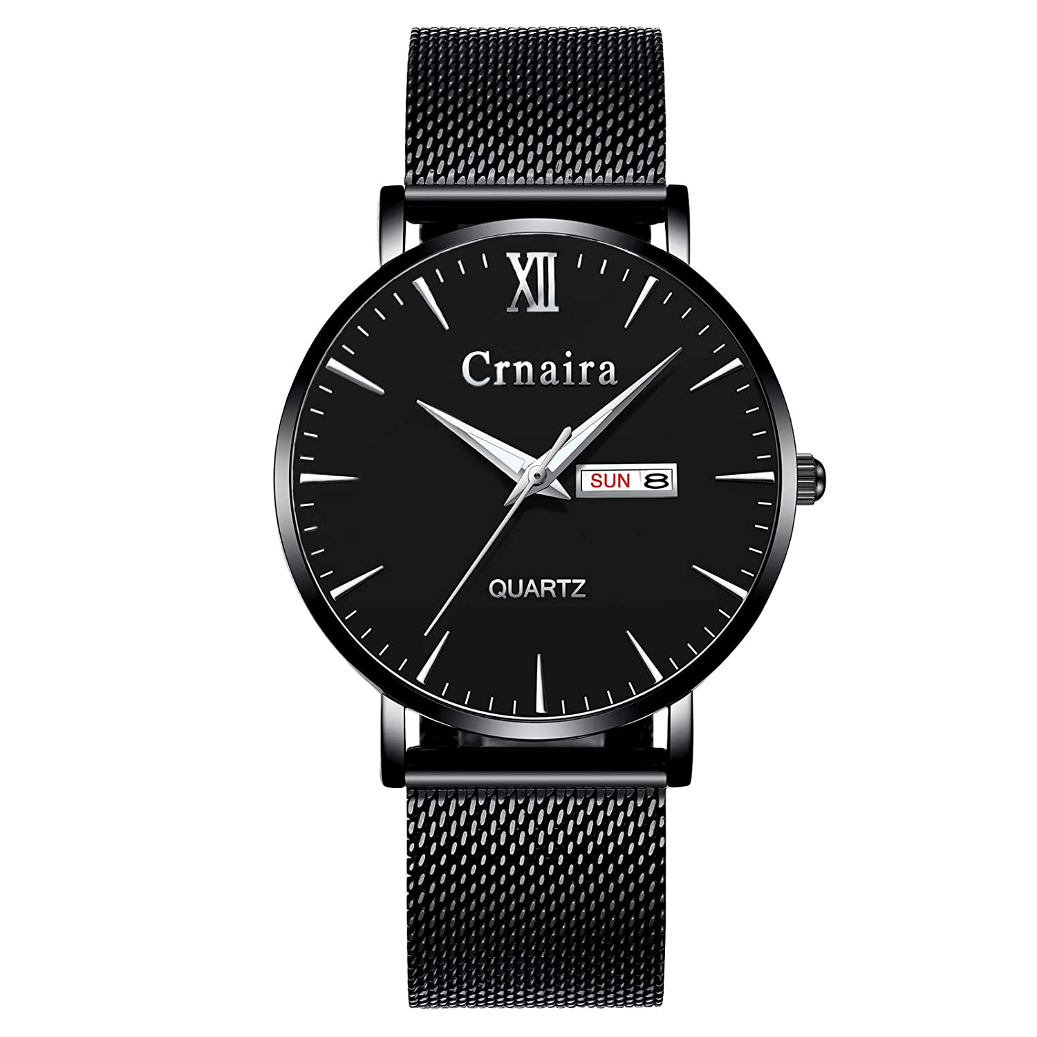 Led Dual Display Men Watch Most Popular Colors Sports Solar Steel Strap Quartz Wrist Watch For Lover Birthday Gift Ll Attractive Fashion Men's Watches