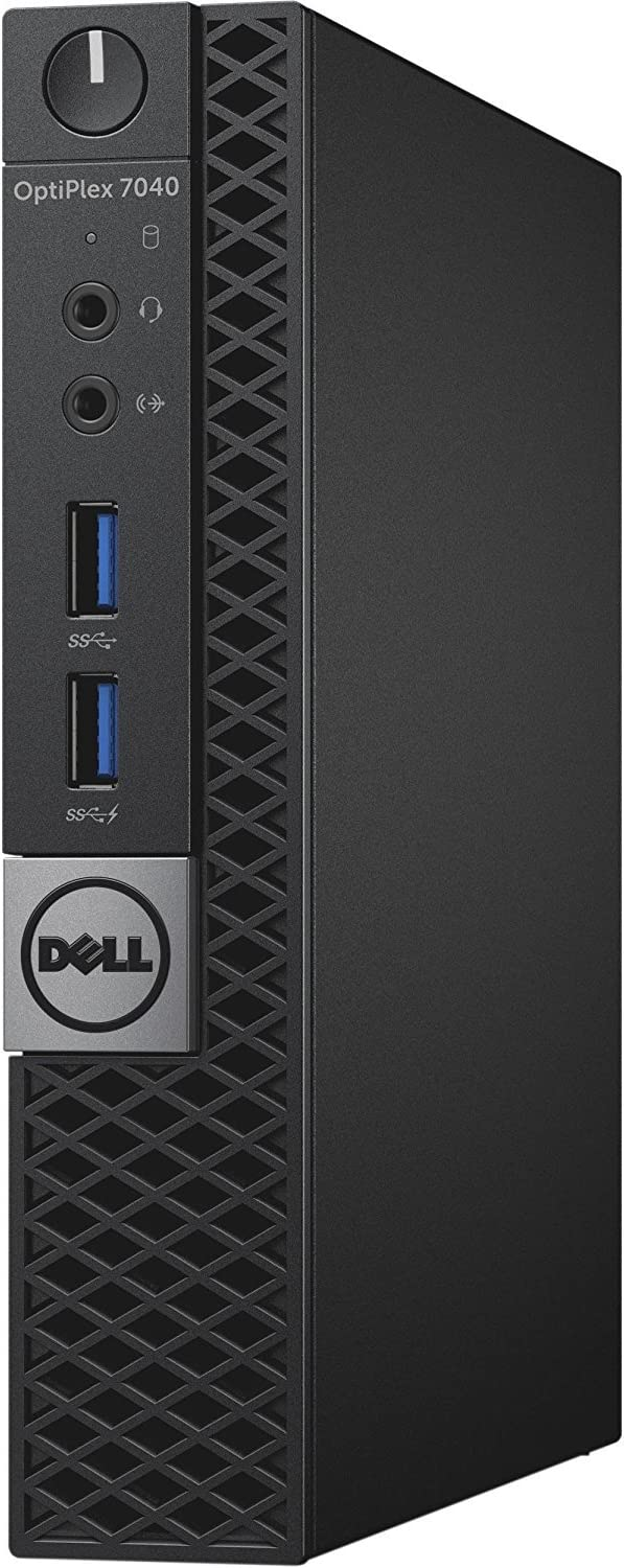 Dell OptiPlex 7050 Micro Tower (Intel Core i5-6500T, 8 GB, 128 GB M.2 SSD) WIndows 10 Pro (Renewed)