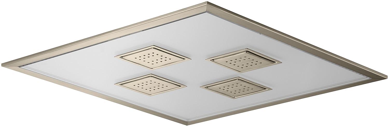 Kohler K 98741 K1 Bv Water Tile Ambient Rain Overhead Rain Shower