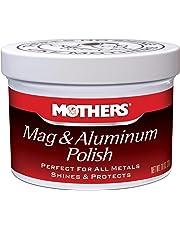 Mothers Las madres 05101Mag & Aluminio polaco y paños de microfibra Bundle, Pulido
