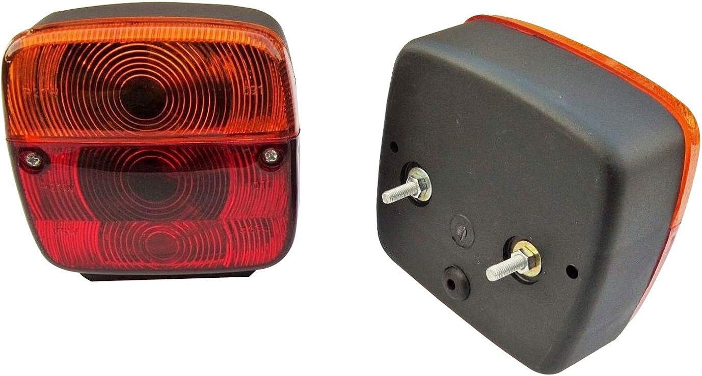 Paire tracteur Remorque Stop Queue lumi/ère clignotant avec ampoule -11002302 gauche + droite