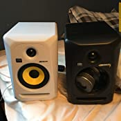 krk rp5g3 na rokit 5 generation 3 powered studio monitor pair musical instruments. Black Bedroom Furniture Sets. Home Design Ideas
