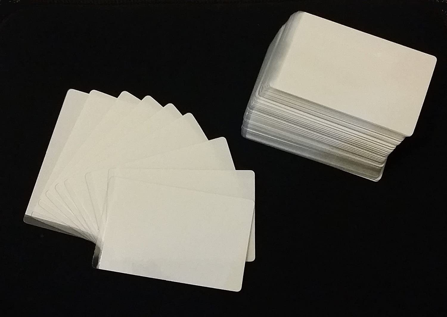 Credit Card Size 54x86mm Made in UK High Quality Cold Seal Laminating Pouches 300 Microns 25