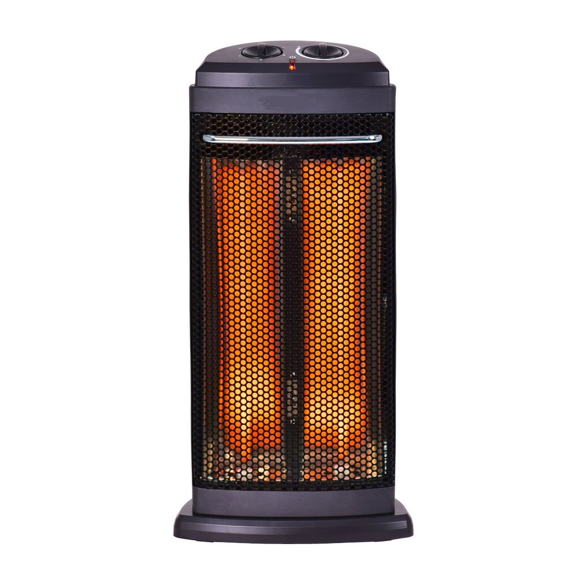 onEveryBaby Electric Space Heater -1500W Infrared Tower Heater Fan with 3 Heat Settings, Thermostat Remote Control Timer, Overheat Tip-Over Shut Off Protection, for Indoor Room Use