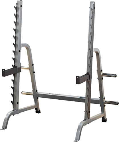 Body-Solid GPR370 Adjustable Multi Press Rack for Bench Press, Squats, and Weightlifting Workout