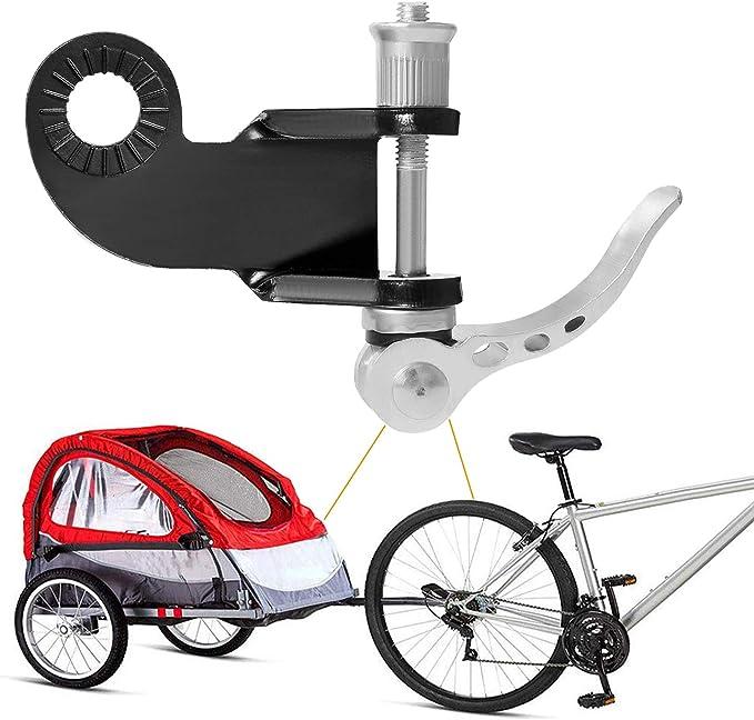 CETECK - Enganche para Remolque de Bicicleta para niños, Incluye Acoplamiento Adicional para Remolque de Bicicleta 2 en 1 para Remolque de Perros: Amazon.es: Deportes y aire libre