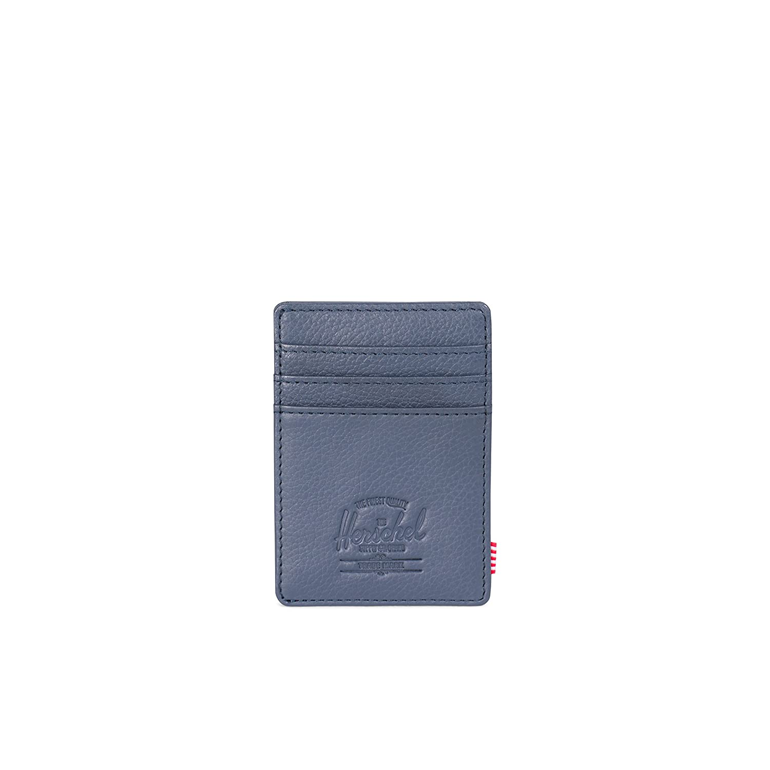 Herschel Supply Co. Men's Raven Leather Rfid Wallet Navy Pebbled Leather RFID One Size 10366-00776-OS