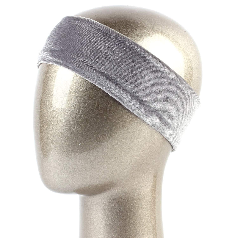 6cm Womens Velour Headband Winter Warm Plolyester Flat Hair Band for Girls Ladies Velvet Soft Turban Hair accessories,Yellow