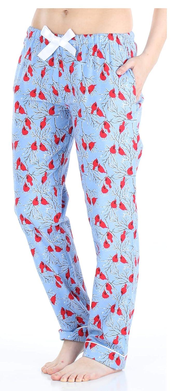PajamaMania - Ropa de Dormir para Mujer - Pijama de Franela - Pantalones de Pijama para Mujer