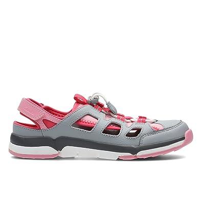 7d4385269d9ac Clarks Girls Closed Toe Summer Sandals Tri Surf: Amazon.co.uk: Shoes & Bags