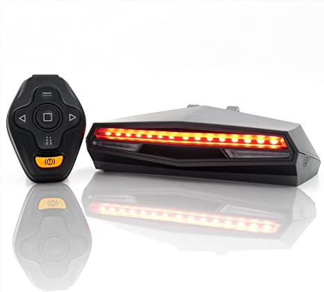 Waterproof Bicycle Bike Indicator LED Rear Tail Light Wireless Remote Control