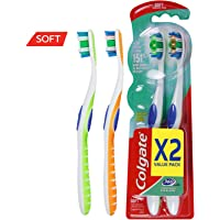 Colgate 360 Soft Toothbrush - 2pk