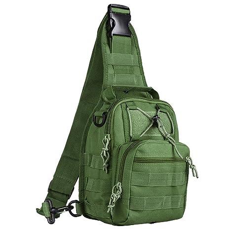 d980c99ad80c Amazon.com : Fieans Outdoor Tactical Shoulder Backpack, Camping ...
