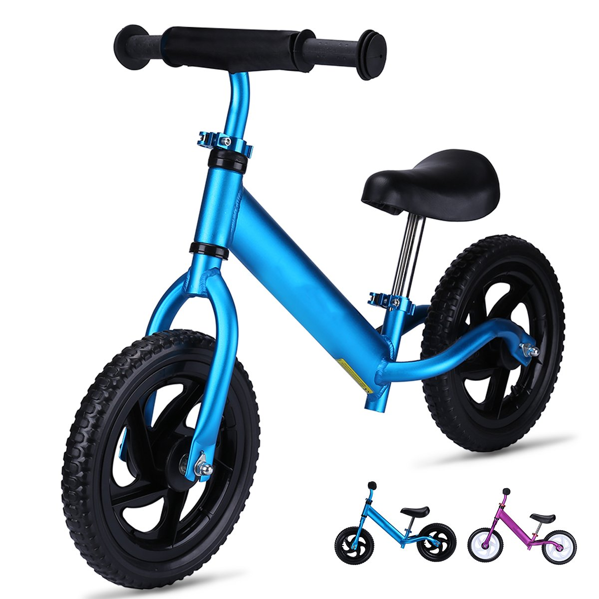 OUTON Balance Bike for Kids Aluminum Frame No Pedal Child Learning Bike 18 Month to 5 Years 4.3lbs