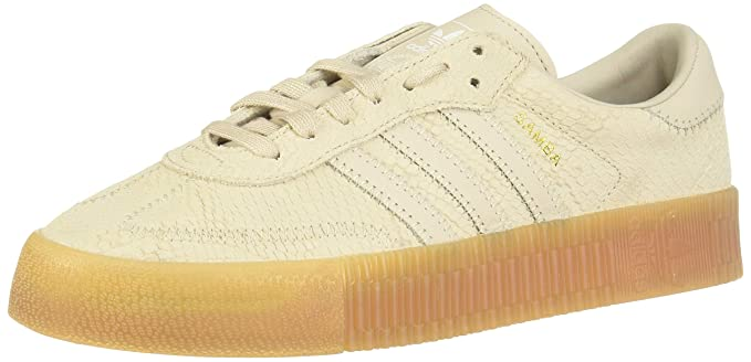 a2cdd5e48874 Amazon.com  Adidas Samba Rose Womens Sneakers Natural  Clothing