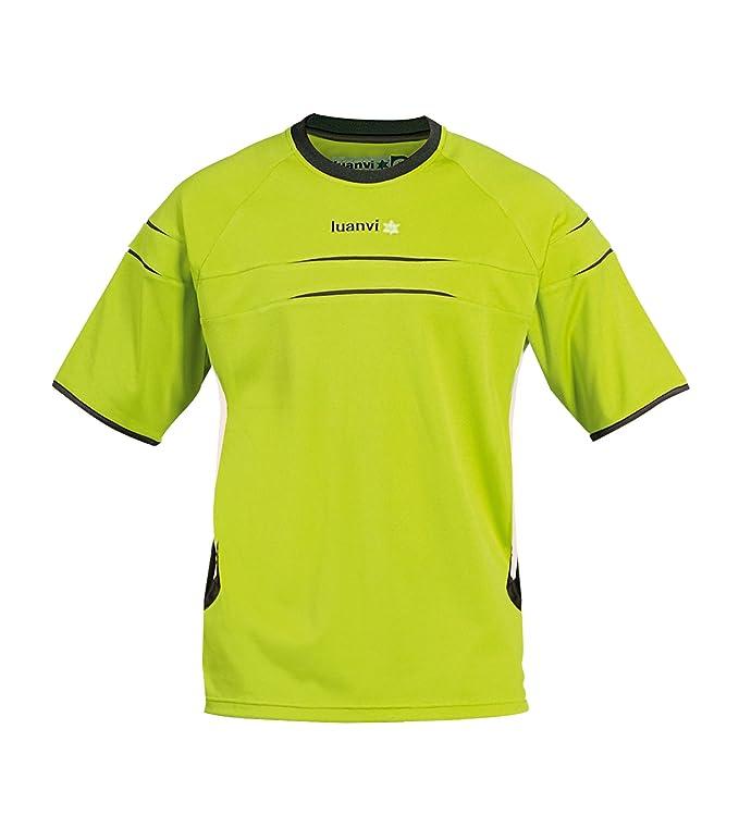 Luanvi - Camiseta m/c kenia sr, talla s, color pistacho / blanco: Amazon.es: Deportes y aire libre