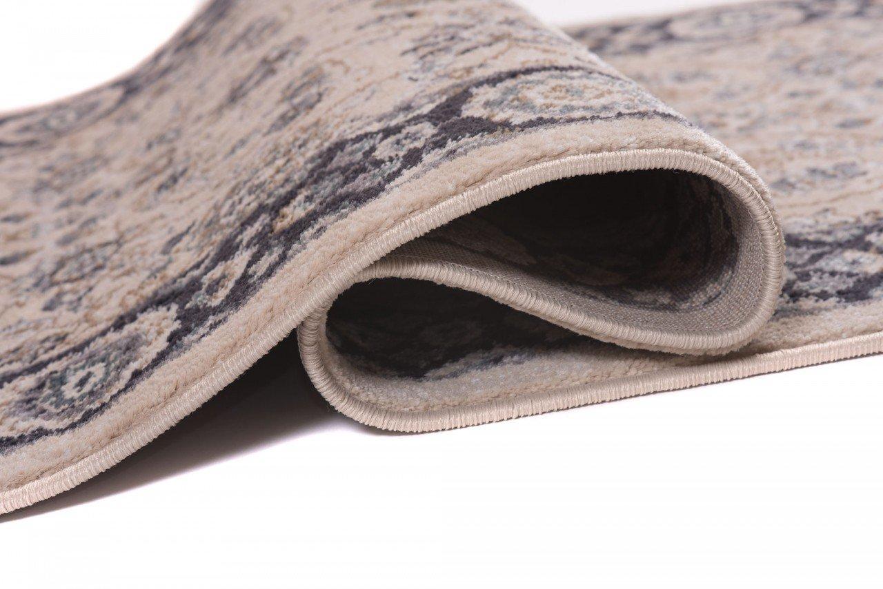 Läufer Teppich Flur in Anthrazit Schwarz Schwarz Schwarz - Orientalisch Klassischer Muster - Brücke Läuferteppich nach Maß - 100 cm Breit - AYLA Kollektion von Carpeto  - 100 x 225 cm B079YNW1ZG Lufer 55bbde