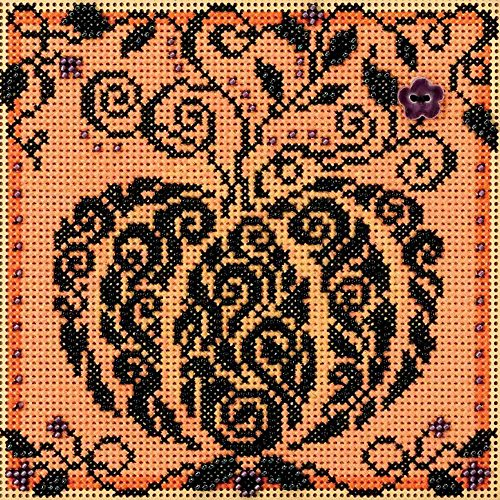Mill Hill Enchanted Pumpkin Beaded Counted Cross Stitch Kit