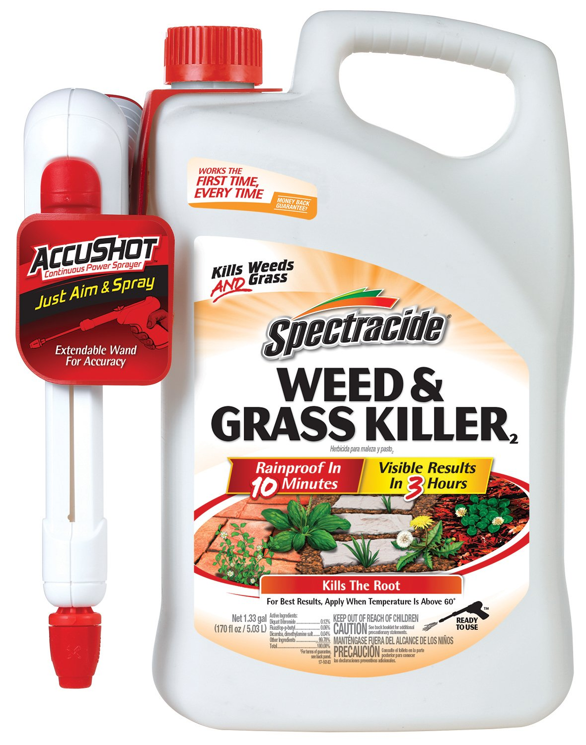 Spectracide Weed & Grass Killer2 (AccuShot Sprayer)