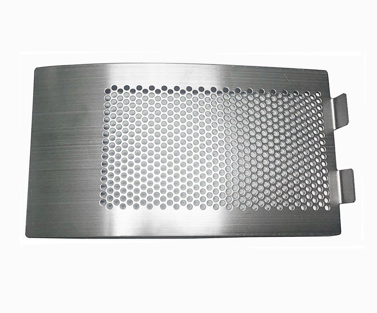 WANRAY Big Green Egg Accessories,Stainless Steel Punched MESH Panel Fits for Medium,Large Big Green Egg Draft Door Kamado Grill Accessories Egg Bottom Vent Replacement Punched Metal Panel