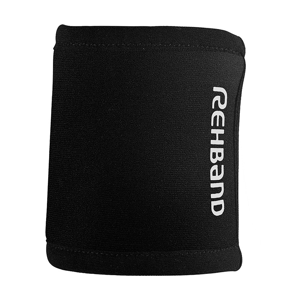 29e5f5b29e Amazon.com: Rehband Rx Wrist Support - Small - Black - Wrist Sleeves For  Crossfit Training, Team Sports + Weightlifting - Sports Compression Gear  For ...