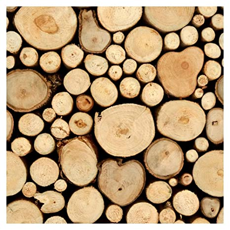 murando - Vlies Tapete Deko Panel Fototapete Wandtapete Wand Deko 10 m  Tapetenrolle Mustertapete Wandtapete modern design Dekoration - Holz 1602-8