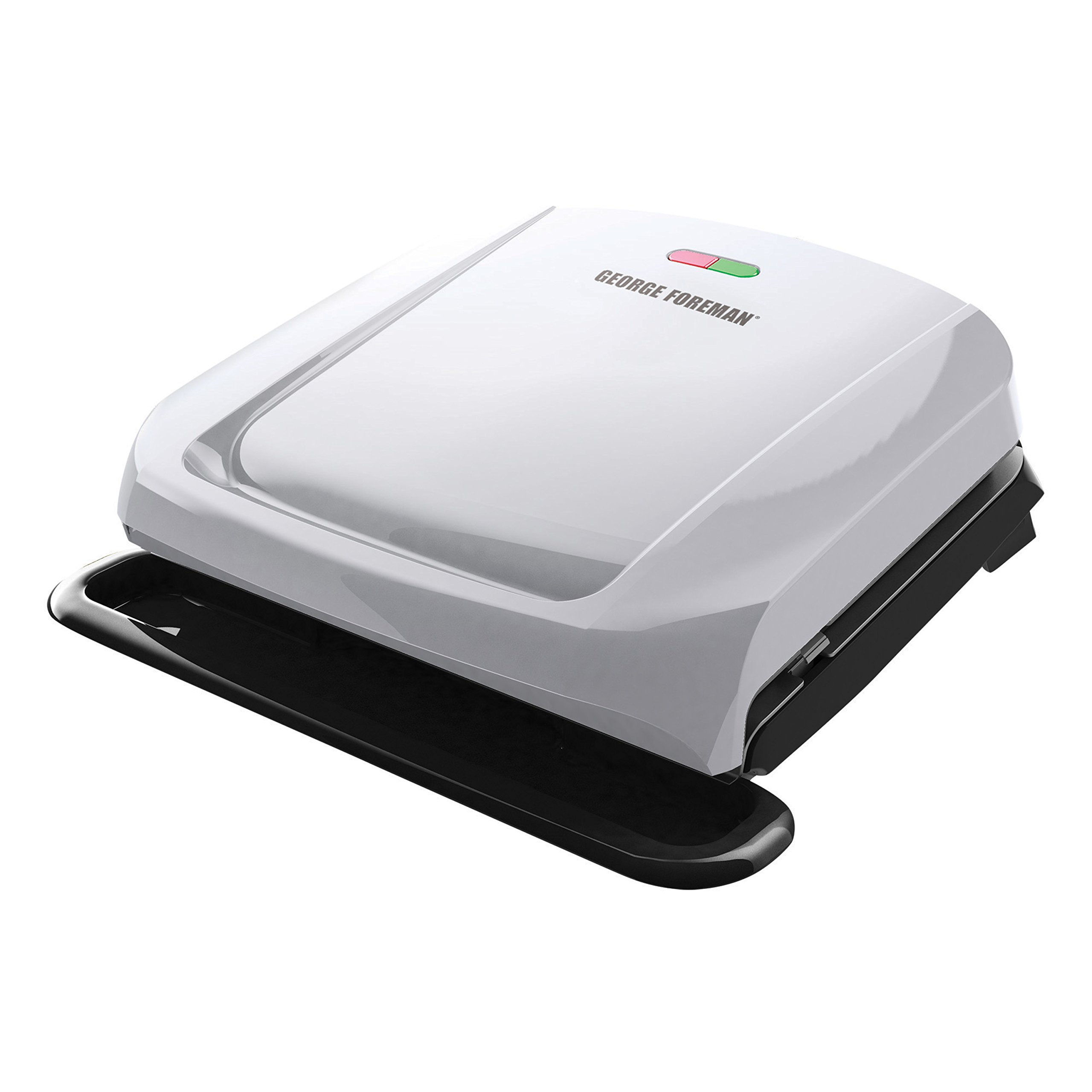 George Foreman 4-Serving Removable Plate Grill and Panini Press, Platinum, GRP1060P by George Foreman