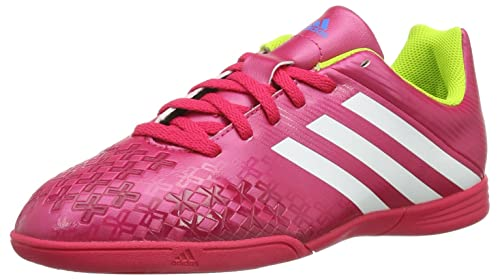 adidas Zapatilla Jr Predito LZ IN Vivid berry-Solar slime Talla 3 UK: Amazon.es: Zapatos y complementos