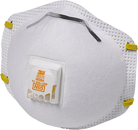 40 Valve Of Particulate pack Respirator With N95 8511 3m
