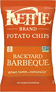 product image for Kettle Brand Potato Chips, Backyard Barbeque, 8.5 Ounce Bags (Pack of 12)