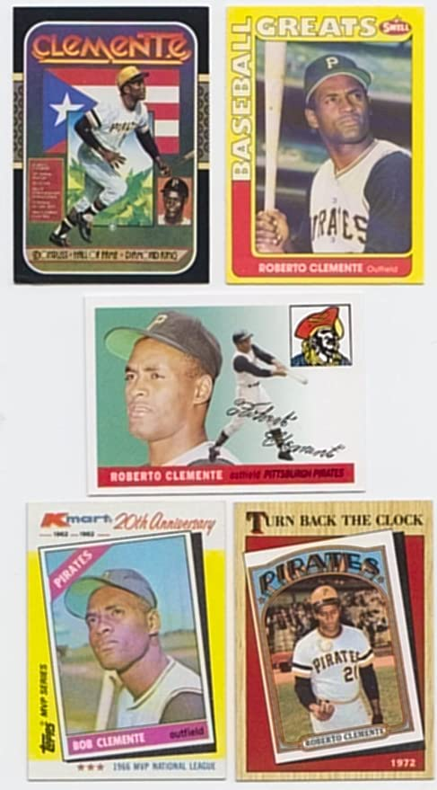 Roberto Clemente 30 Baseball Card Lot All Different At Amazons