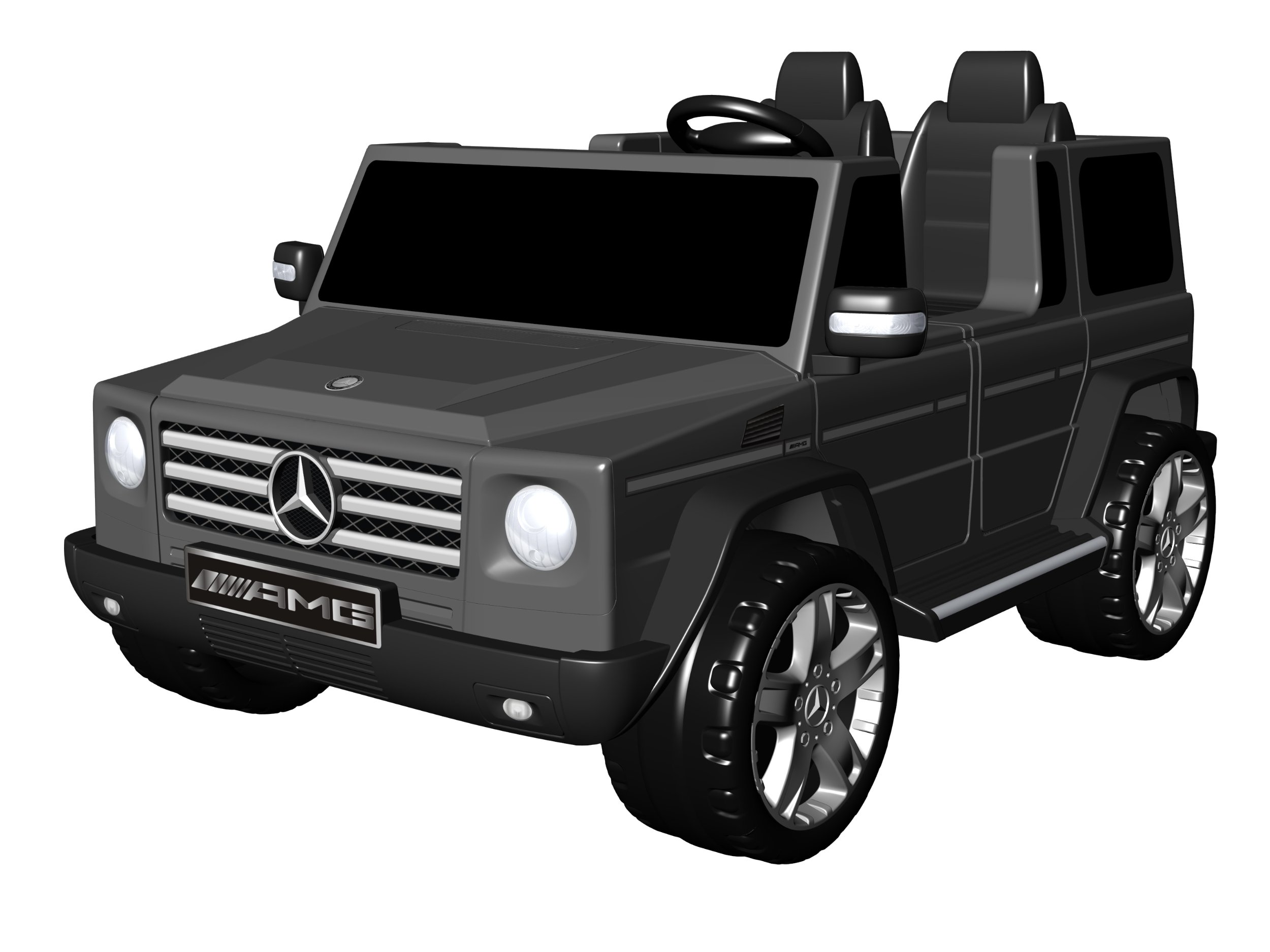 National Products 12V Black Mercedes Benz G-Class Battery Operated Ride-on by National Products