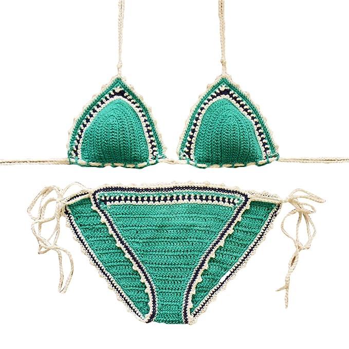 Wanyang Donne Sexy Estate Uncinetto Beachwear Bikini Costumi