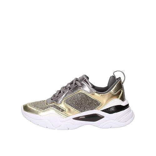 Guess Sneakers con Inserti Effetto Laminato e Glitter Colore
