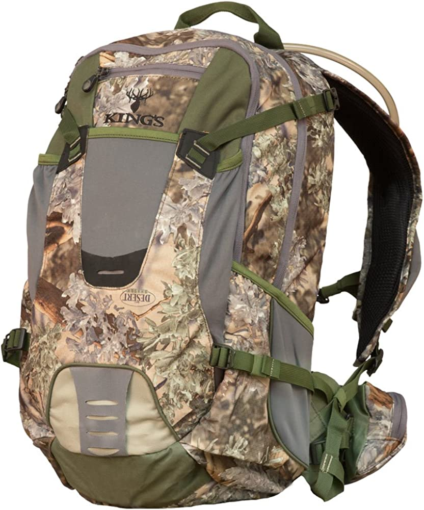 Kings Camo Core Hunter KCG1800 Day Pack Hunting Backpack Desert or Mountain