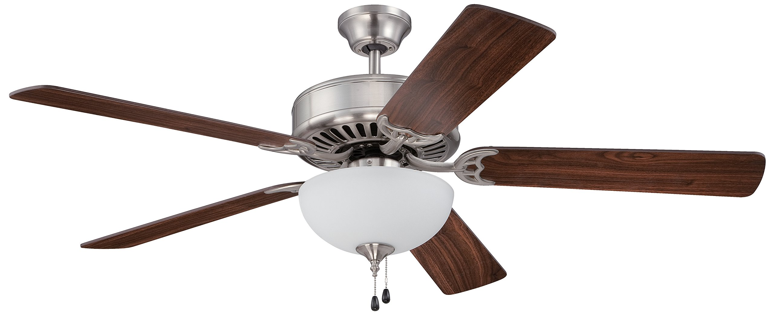 Craftmade C201BNK Ceiling Fan with Blades Sold Separately, 52''