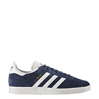differently 362f6 0ea51 adidas Originals Womens Gazelle W Sneaker, Collegiate NavyWhiteGold  Metallic, 9.5 M US Amazon.co.uk Shoes  Bags