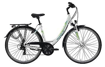 Mujer bicicleta 28 pulgadas – Pegasus Piazza – 21 marchas circuito cadena de profundidad básico bicicleta