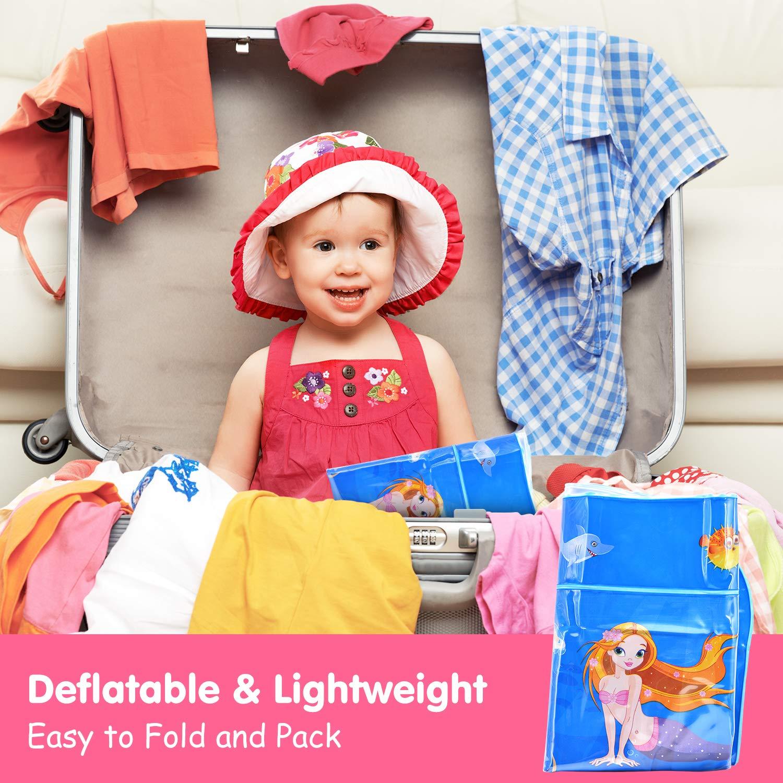 Wesimplelife Baby Wasserspielmatte Aufblasbare Spielmatten Spa/ß Bauchzeit Spielaktivit/ät Auslaufsicher BPA-frei Wasser-Matte Spielzeug Spieldecke f/ür S/äuglinge und Kleinkinder