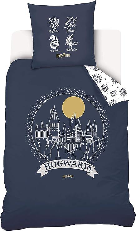 Warner Harry Potter - Juego de Funda nórdica y Funda de Almohada ...