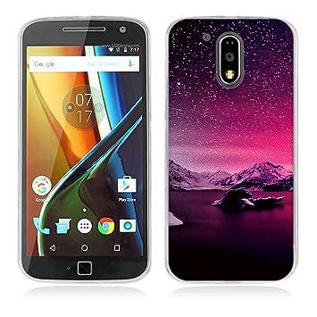 FUBAODA Funda para Motorola para Moto G4,Funda para Motorola para ...