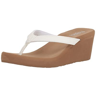 Flojos Women's Olivia Flip-Flop   Platforms & Wedges