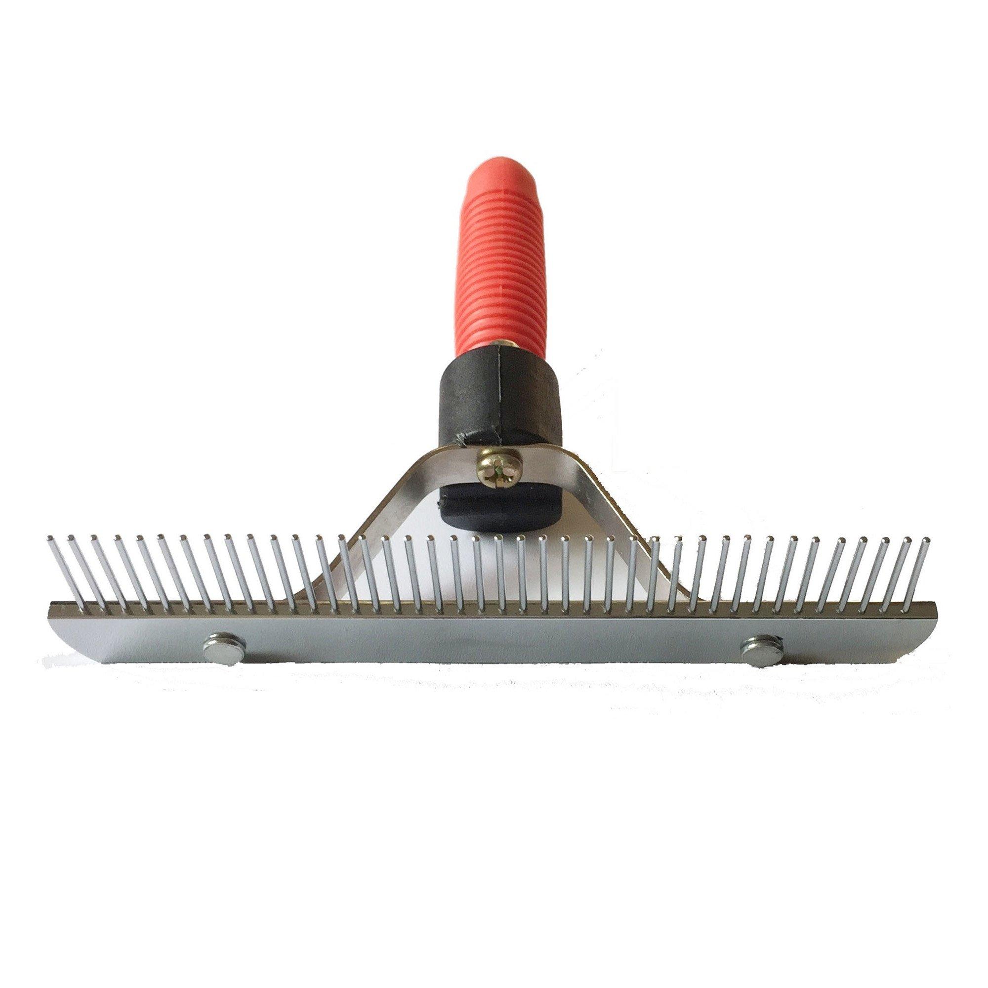 Pet Comb Extra-Large Rake Comb Grooming Brush Deshedding Tool Beauty Comb For Large Dogs Golden Retriever Husky German Shepherd