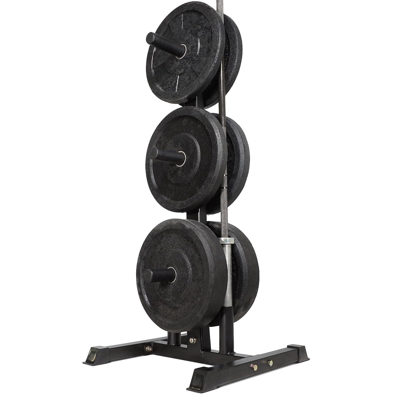 Titan Fitness Olympic 2  Weight Plate Rack Tree u0026 Barbell Holder Organizer Stand Amazon.co.uk Sports u0026 Outdoors  sc 1 st  Amazon UK & Titan Fitness Olympic 2