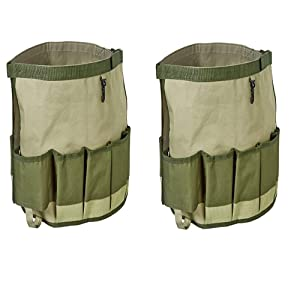 Fiskars Garden Bucket Caddy, Bucket Not Included (9424) - 2 PACK