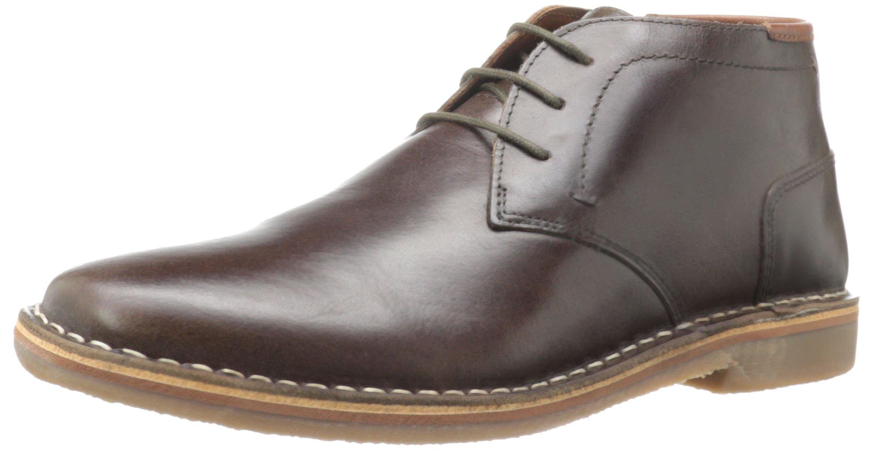 Steve Madden Men's Hestonn Chukka Boot,Dark Brown,7 M US
