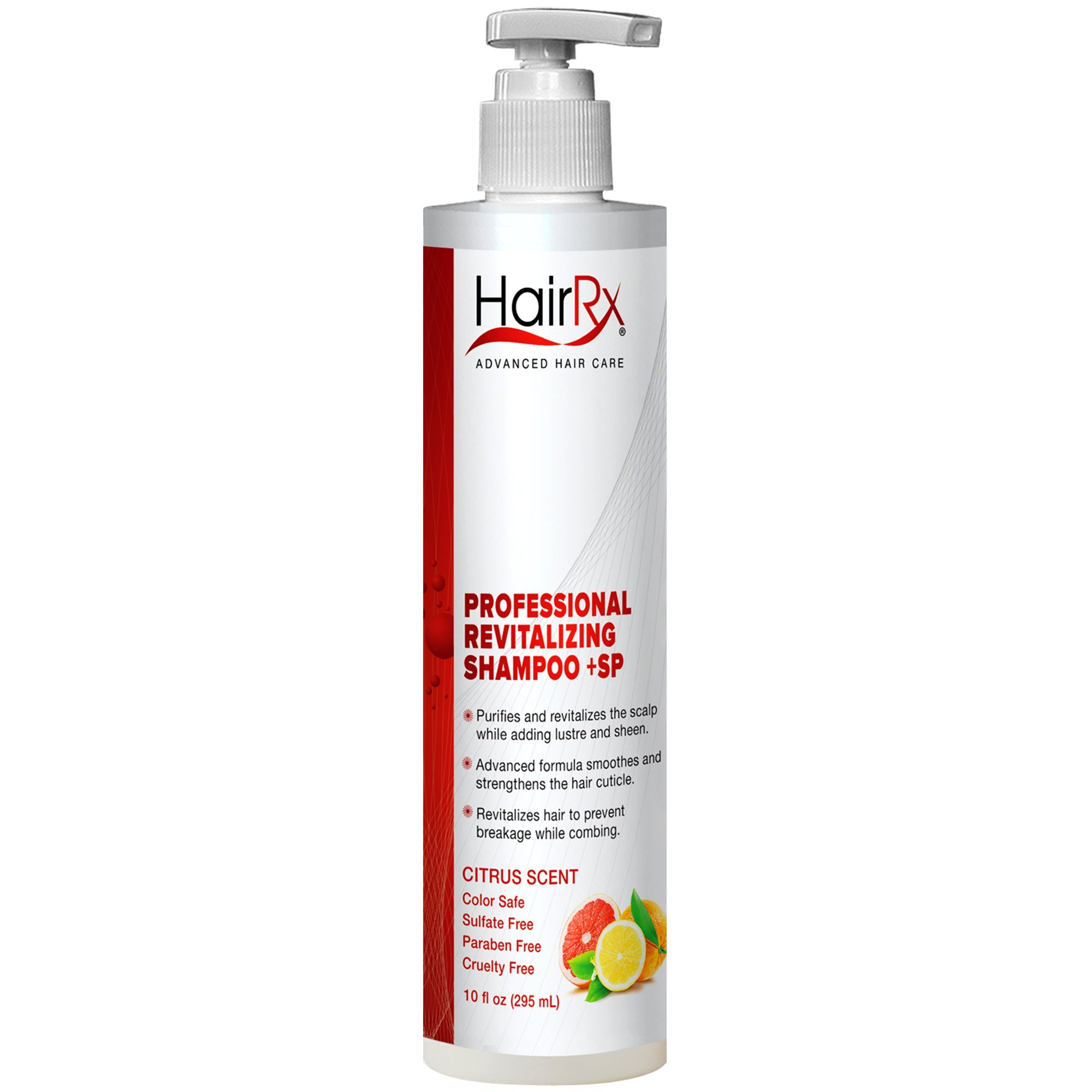 HairRx Professional Curl-Defining Shampoo with Pump
