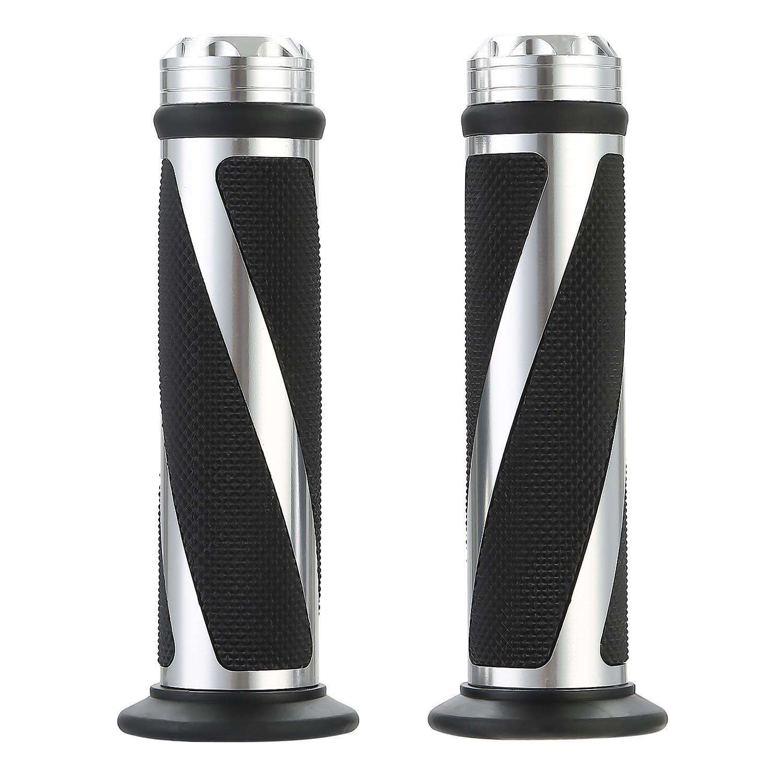 'CICMOD 2 x 22 mm (7/8) impugnature  manubrio antiscivolo per motociclette Honda, Kawasaki, Suzuki, Yamaha, BMW, KTM, Ducati, Triumph ecc.